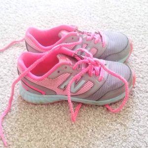 Little Girls Size 12.5 Wide New Balance Sneakers